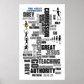 Gran Comisión Mathew 28 (v1) Poster