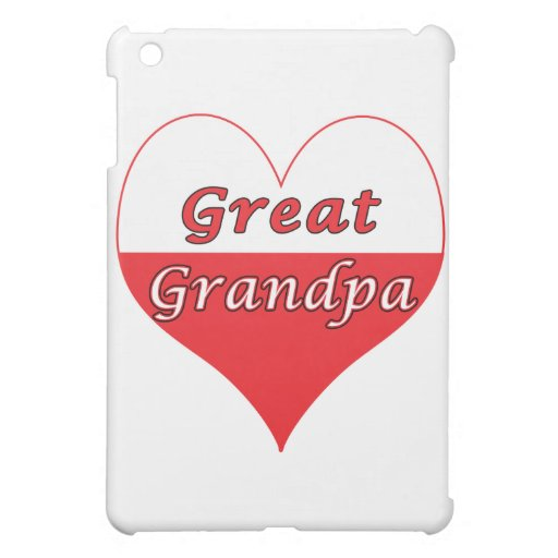 Gran corazón del polaco del abuelo