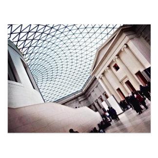 Gran corte - British Museum Tarjeta Postal