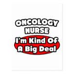 Gran cosa de la enfermera de la oncología… tarjeta postal