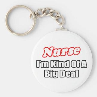 Gran cosa de la enfermera… llavero redondo tipo pin