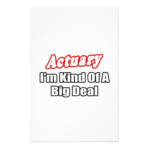 Gran cosa del actuario…  papeleria de diseño