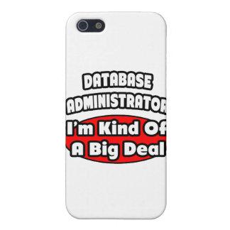 Gran cosa del administrador de base de datos… iPhone 5 funda