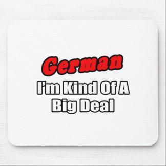 Gran cosa del alemán… tapete de ratones