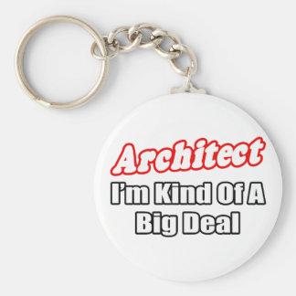 Gran cosa del arquitecto… llaveros personalizados