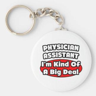 Gran cosa del ayudante del médico… llavero redondo tipo pin