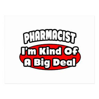 Gran cosa del farmacéutico… postal