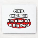 Gran cosa del ingeniero civil… alfombrilla de ratón