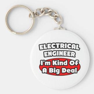 Gran cosa del ingeniero eléctrico… llavero redondo tipo pin