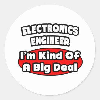 Gran cosa del ingeniero electrónico… pegatinas