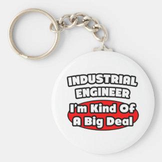 Gran cosa del ingeniero industrial… llavero redondo tipo pin