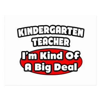 Gran cosa del maestro de jardín de infancia… postales