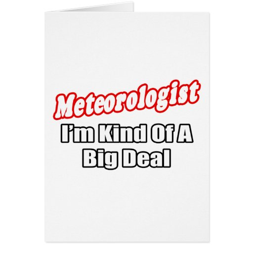 Gran cosa del meteorólogo… tarjeton