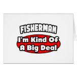 Gran cosa del pescador… tarjeta