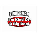 Gran cosa del pescador… tarjeta postal