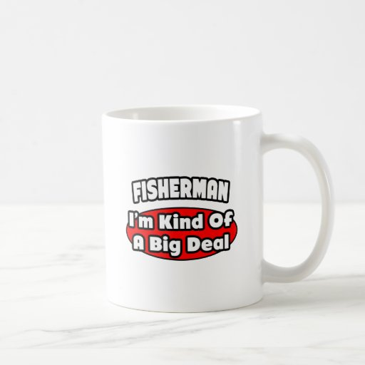 Gran cosa del pescador… taza