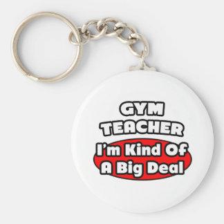 Gran cosa del profesor de gimnasio… llavero personalizado