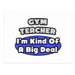 Gran cosa del profesor de gimnasio… postal