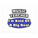 Gran cosa del profesor de música… postales