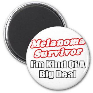 Gran cosa del superviviente del melanoma… imanes para frigoríficos