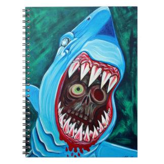 Gran cuaderno del tiburón blanco