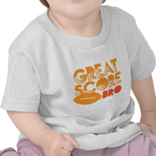 ¡Gran cuenta Bro! con fútbol Camisetas