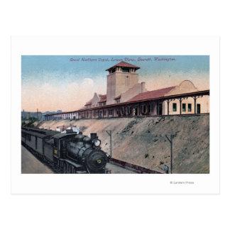 Gran depósito septentrional 2 del ferrocarril tarjetas postales