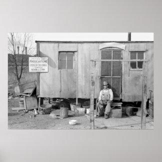 Gran Depresión, los años 40 Póster