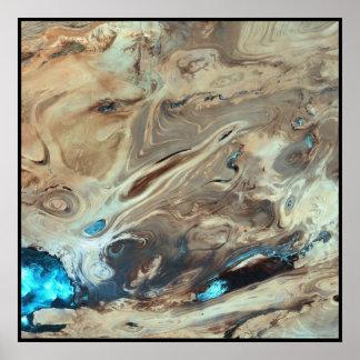 Gran desierto Irán de la sal de Dasht-e Kevir Impresiones