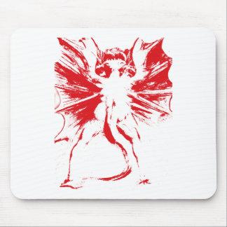 Gran dragón rojo mousepads