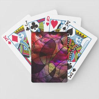 gran efecto de las sensaciones barajas de cartas