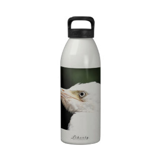 Gran Egret blanco Botellas De Agua Reutilizables