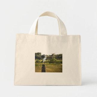 Gran Egret en el bolso de los humedales de Viera Bolsa De Mano