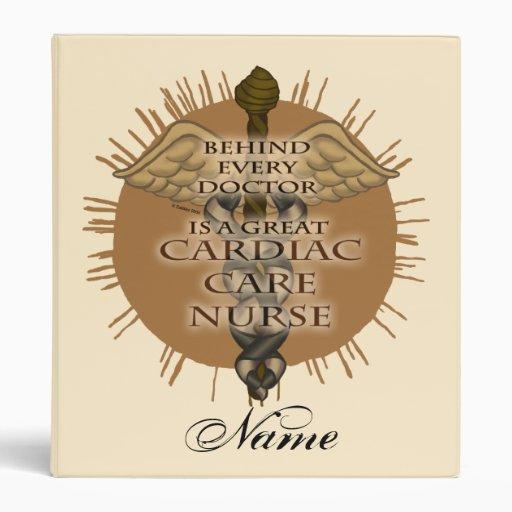 "Gran enfermera cardiaca del cuidado carpeta 1"""