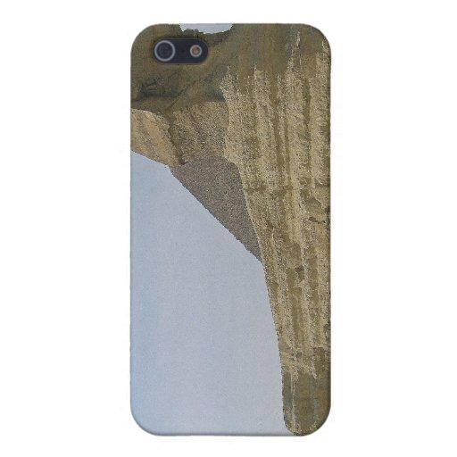 Gran esfinge con la pirámide iPhone 5 fundas