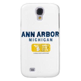 Gran estado del lago ann Arbor Michigan Funda Para Galaxy S4