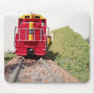 Gran estera Railroading modelo del ratón Tapete De Ratones