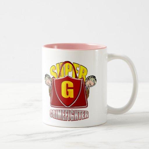 Gran estupendo - taza estupenda del crimefighter