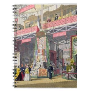Gran exposición, 1851: Francia No.1, exhibición de Libros De Apuntes