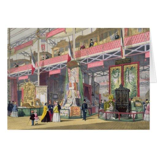Gran exposición, 1851: Francia No.1, exhibición de Tarjetón