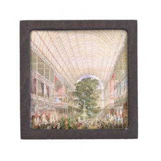 Gran exposición de 1851 Decoración del transe Cajas De Recuerdo De Calidad