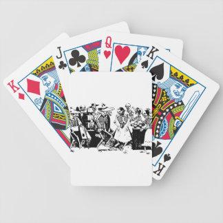 Gran Fandango Skeletons Dancing Mexico Vintage Bicycle Playing Cards