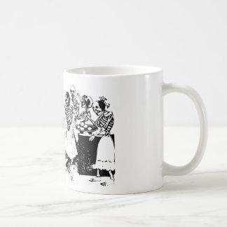 Gran Fandango Skeletons Dancing Mexico Vintage Coffee Mug