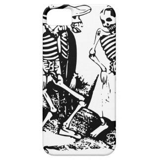 Gran Fandango Skeletons Dancing Mexico Vintage iPhone SE/5/5s Case