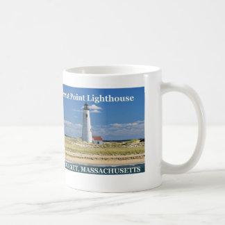 Gran faro del punto, taza total de Nantucket