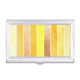 gran fondo amarillo de la acuarela - acuarela cajas de tarjetas de visita