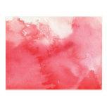 gran fondo de la acuarela - pinturas 3 de la acuar tarjetas postales