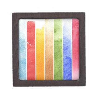 gran fondo de la acuarela - pinturas 5 de la acuar caja de recuerdo de calidad
