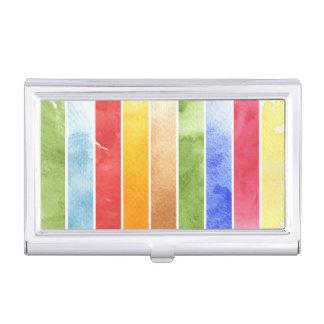 gran fondo de la acuarela - pinturas 5 de la caja de tarjetas de presentación