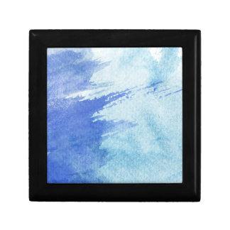 gran fondo de la acuarela - pinturas de la acuarel caja de recuerdo